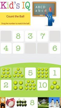 Kids IQ apk screenshot