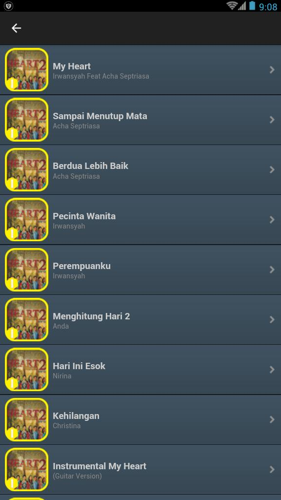 Lagu Heart Series 2 Lengkap for Android - APK Download