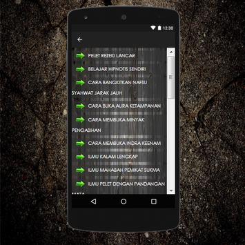 Ilmu Pelet Lewat Suara Ampuh apk screenshot