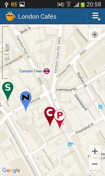 London Cafés apk screenshot