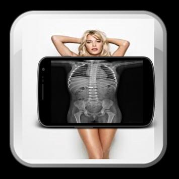 Prank X-ray cloth girl screenshot 1