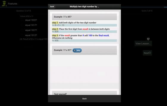 Math Easy Integers apk screenshot