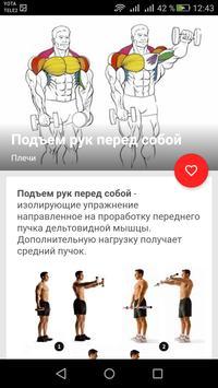 Упражнения с гантелями poster