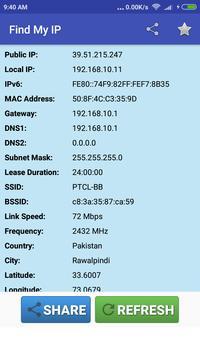 Find My IP Address poster