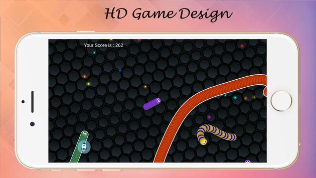 Super slither Snake Game apk screenshot