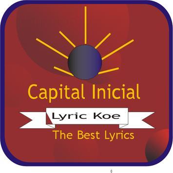 Capital Inicial- Lyrics poster
