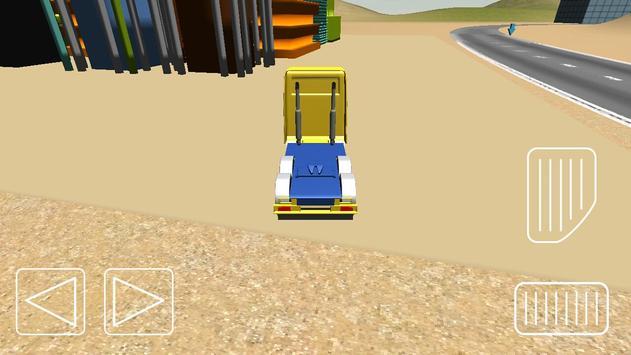 Truck Simulator Saga poster