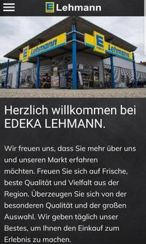 EDEKA Lehmann Haslach poster
