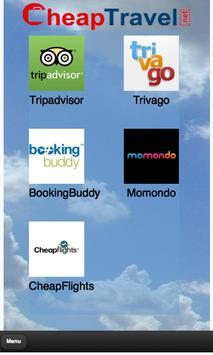 Cheap Travel poster