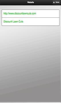 Discount Lawn Cuts apk screenshot