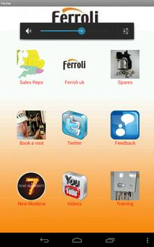 Ferroli app screenshot 2