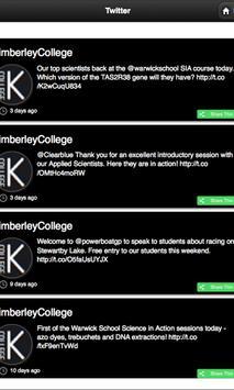 Kimberley STEM College screenshot 3