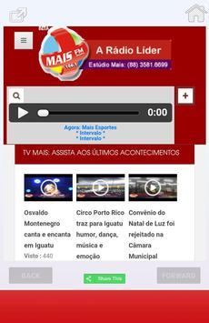 MaisFM Iguatu screenshot 2