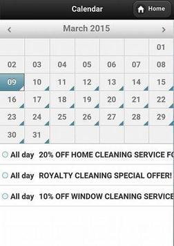 Royalty Cleaning apk screenshot
