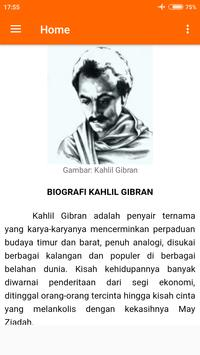 Kumpulan Puisi Indah Kahlil Gibran New poster