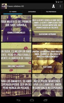 Frases célebres HD screenshot 7
