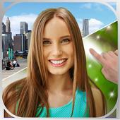 Image background changer icon