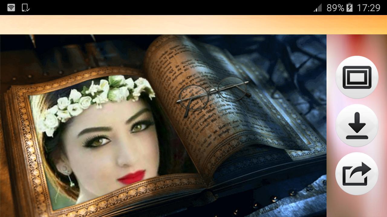 ضع صورتك على غلاف الكتاب For Android Apk Download