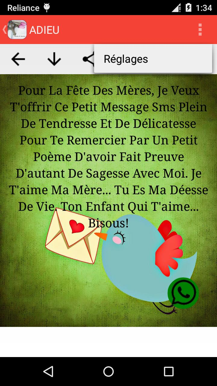 Sms Damour Romantique Et Lettres Damour For Android Apk