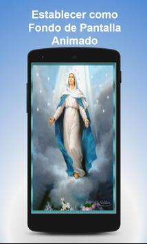 Virgen Maria Fondo Animado Ekran Görüntüsü 1