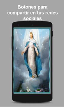 Virgen Maria Fondo Animado Ekran Görüntüsü 2