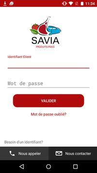 SAVIA Produits Frais poster