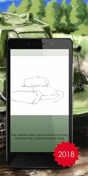 Drawing tanks is the training for children screenshot 1