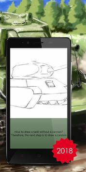 Drawing tanks is the training for children screenshot 2