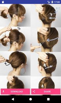 Lovely hairstyles ideas screenshot 2