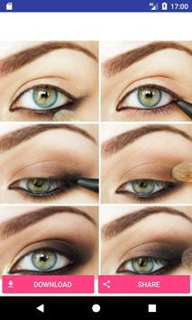 Eye make up step by step screenshot 2