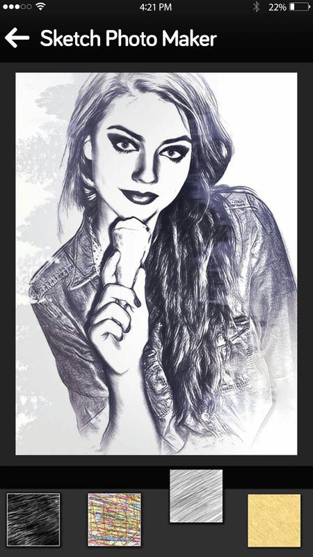 Photo sketch pencil sketch maker apk screenshot
