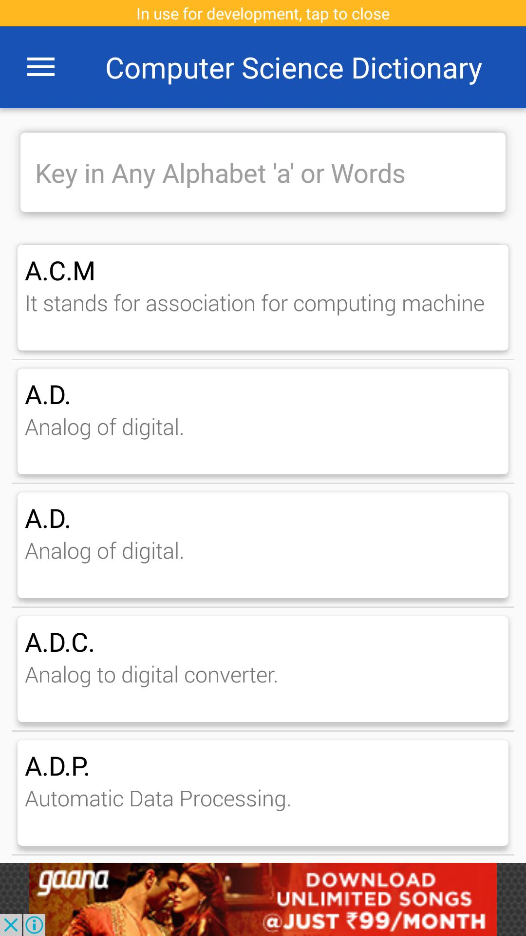 Computer Science Dictionary for Android - APK Download