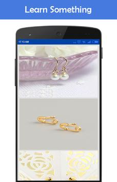 Earrings Design Ideas 2018 screenshot 2