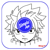 How to Draw Anime step by step icon