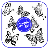 How to Draw Butterfly Tattoos icon