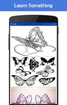 How to Draw Butterfly Tattoos apk screenshot