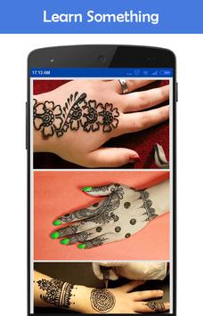 How to Draw Mehndi Designs apk screenshot