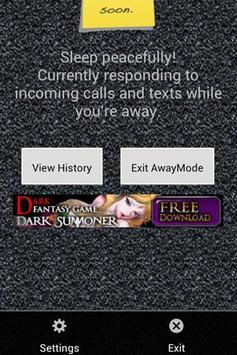 I'm Away (imaway) AutoResponse screenshot 2
