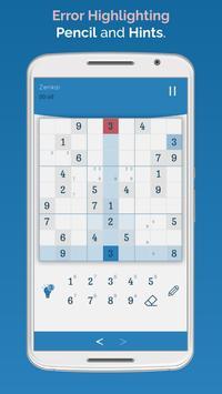 Sudoku Zenkai screenshot 2