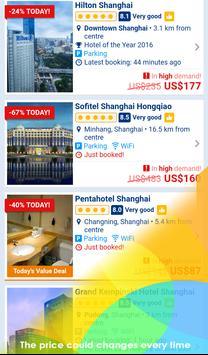 Booking Deals in Shanghai apk screenshot