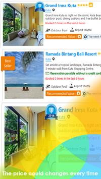 Hotel Deals in Bali apk screenshot