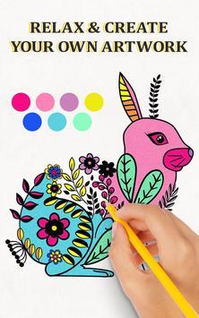 Creative Haven Coloring Book Apk Screenshot