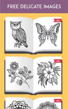 ColorRing Adult Coloring Book Apk Screenshot