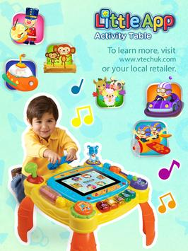 Little App Activity Table poster
