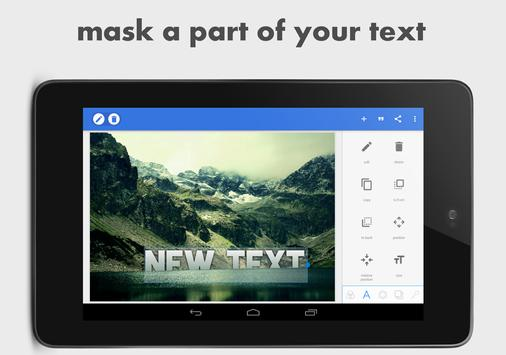 PixelLab - Text on pictures apk screenshot