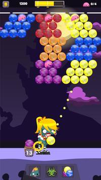 Zombie Bubble Burst screenshot 2