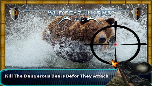 Wild Bear Hunting Simulator poster