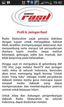 Rasil Network apk screenshot