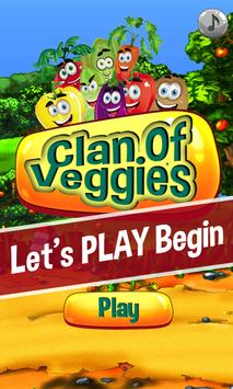 Clan Of Veggies poster