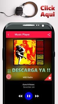 M80 Radio Gratis España Radio poster